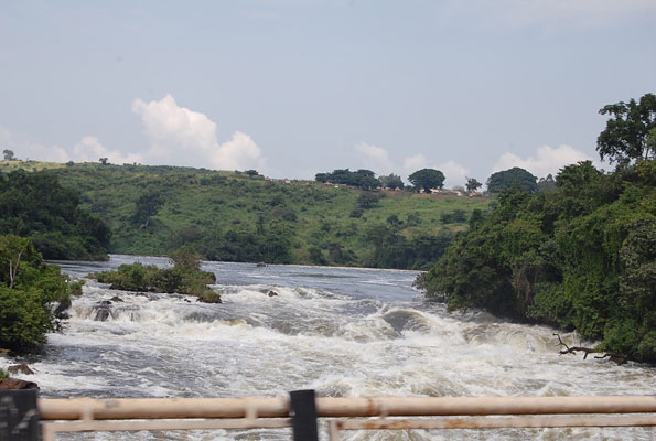 karuma falls view from the bridge